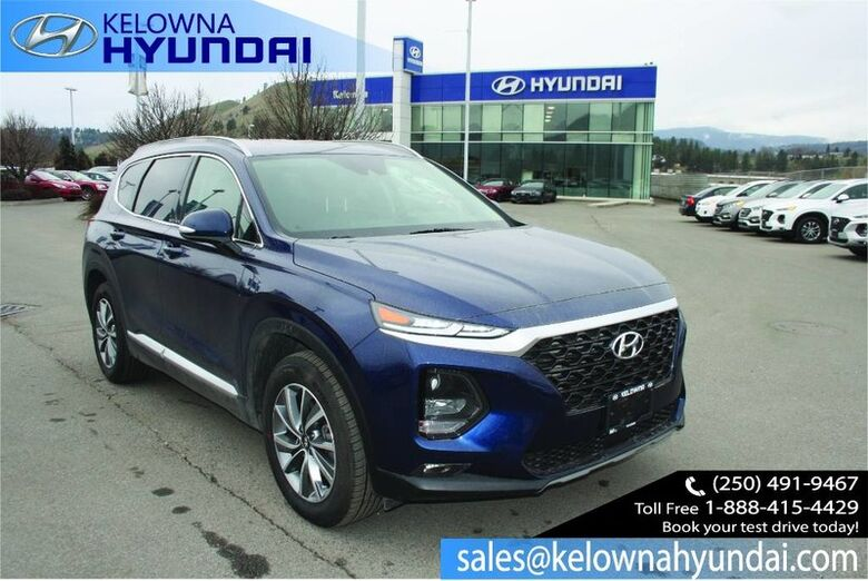 2019 Hyundai Santa Fe Preferred Backup cam and sensors Kelowna BC