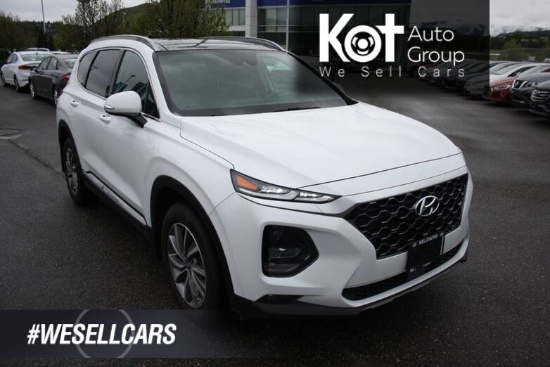 2019 Hyundai Santa Fe Preferred HEATED SEATS! BACKUP CAMERA !BLUETOOTH! HEATED STEERING WHEEL! BLINDSPOT! LANE KEEP ASSIST! Kelowna BC