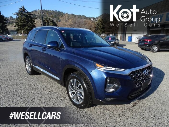 2019 Hyundai Santa Fe Preferred, Low KM's, No Accidents! Back-up Camera, Heated Seats Kelowna BC