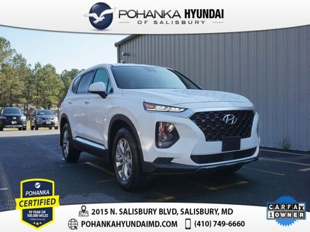 2019_Hyundai_Santa Fe_SE 2.4 **ONE OWNER**_ Salisbury MD