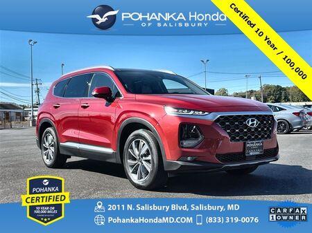 2019_Hyundai_Santa Fe_Ultimate 2.4 ** Pohanka Certified 10 Year / 100,000 **_ Salisbury MD