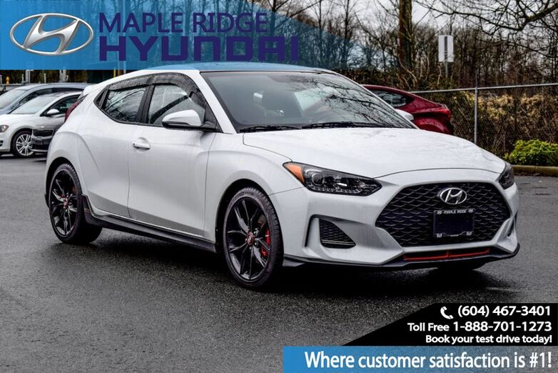 2019 Hyundai Veloster Turbo Manual w/Performance Package Maple Ridge BC