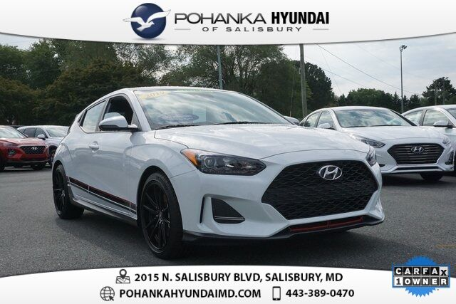 2019 Hyundai Veloster Turbo R-Spec **ONE OWNER**CERTIFIED** Salisbury MD