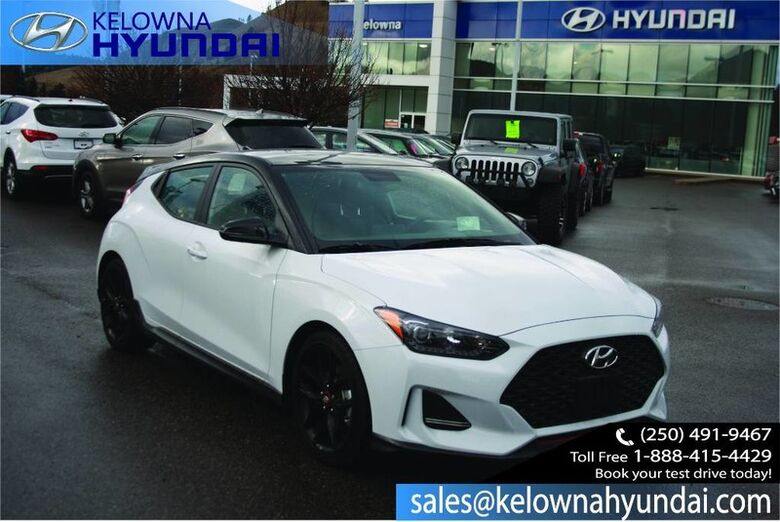 2019 Hyundai Veloster Turbo w/Performance Package Kelowna BC