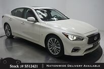 INFINITI Q50 3.0t LUXE CAM,SUNROOF,KEY-GO,17IN WHLS 2019