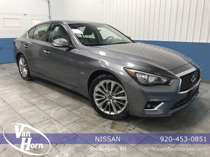 2019 INFINITI Q50 3.0t LUXE Plymouth WI