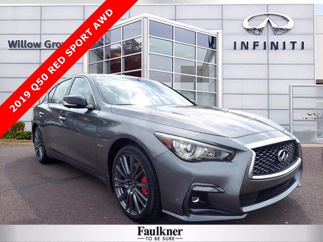 2019 INFINITI Q50 RED SPORT 400 Willow Grove PA