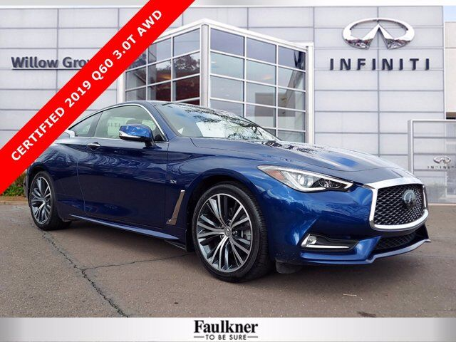 2019 INFINITI Q60 3.0t LUXE Willow Grove PA