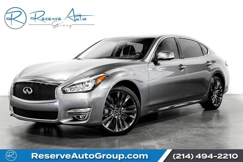 2019_INFINITI_Q70L_LUXE Sport Wheel Pkg BlindSpot Monitor_ The Colony TX