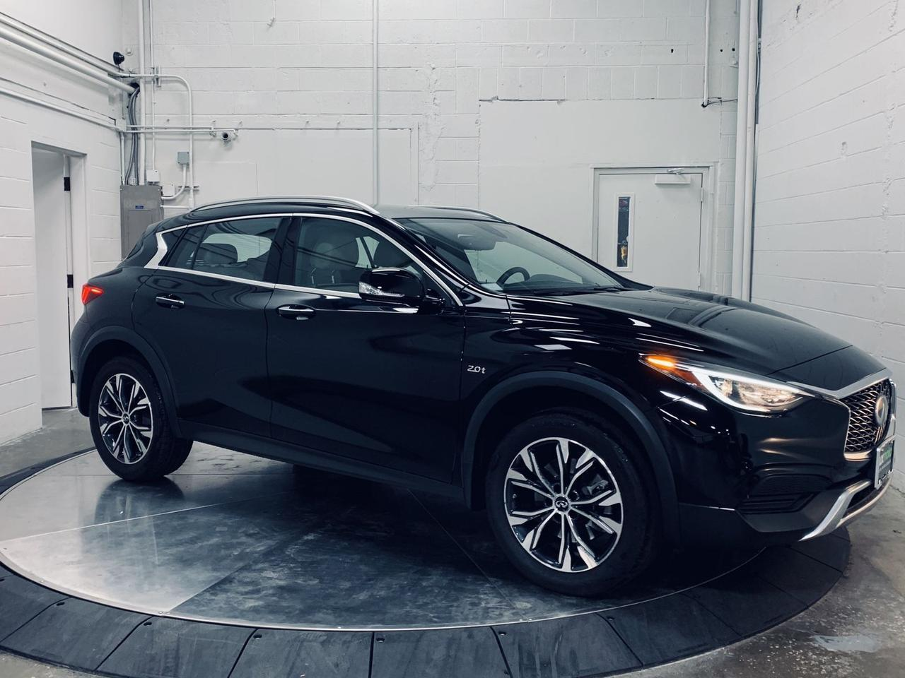 2019 INFINITI QX30 AWD LUXE Htd Seats Backup Cam