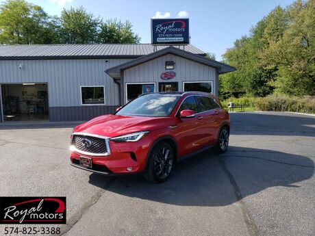 2019 INFINITI QX50 ESSENTIAL Middlebury IN