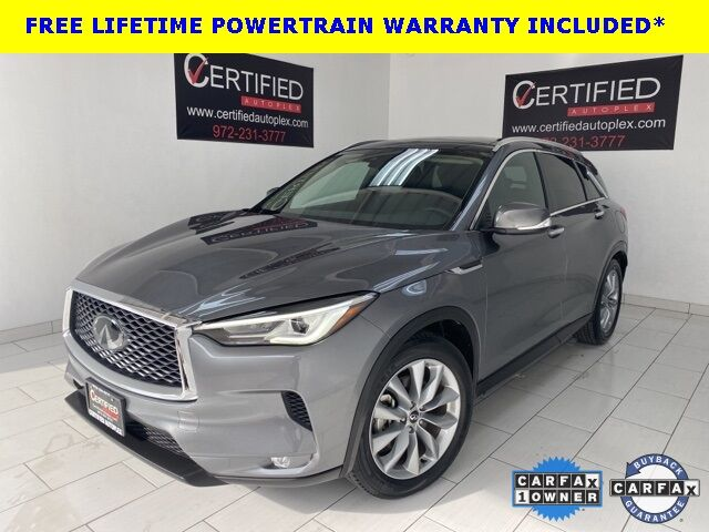 2019 INFINITI QX50 LUXE PANORAMIC ROOF REAR CAMERA BLIND SPOT ASSIST Dallas TX