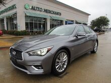 2019_Infiniti_Q50_3.0t LUXE, SUNROOF, BACKUP CAM, HEATED SEATS, REAR CLIMATE_ Plano TX