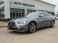 2019_Infiniti_Q50_3.0t Sport*HEATED STEERING WHEEL,REAR PARKING AID,REMOTE START,BACK UP CAM_ Plano TX