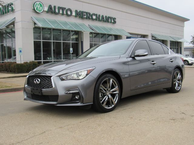 2019 Infiniti Q50 3.0t Sport*HEATED STEERING WHEEL,REAR PARKING AID,REMOTE START,BACK UP CAM Plano TX