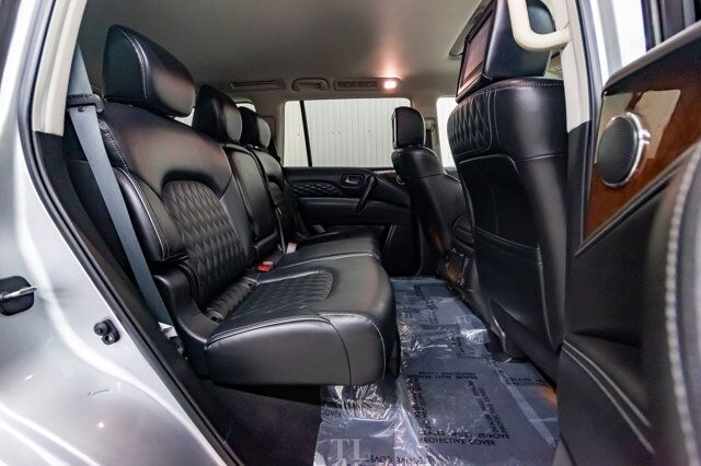 2019 Infiniti QX80 AWD Luxury Edition Leather Roof Nav TV's Red Deer AB