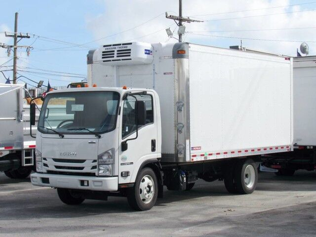 2019 Isuzu NPR-HD 16' Refrigerated Truck