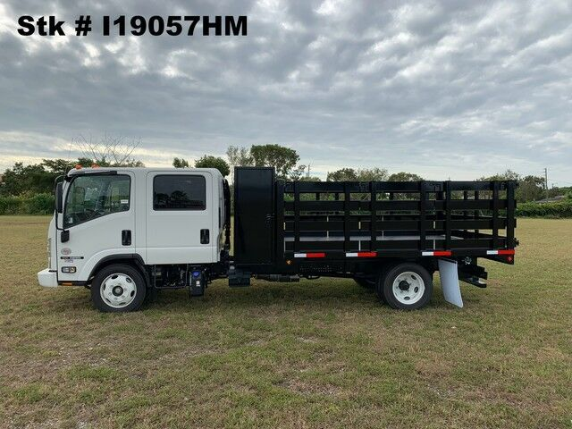 2019 Isuzu NRR 12' BABCO Flatbed with 2' Tool Cabinet (Diesel)