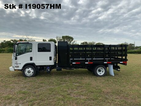 2019 Isuzu NRR 12' BABCO Flatbed with 2' Tool Cabinet (Diesel) Homestead FL