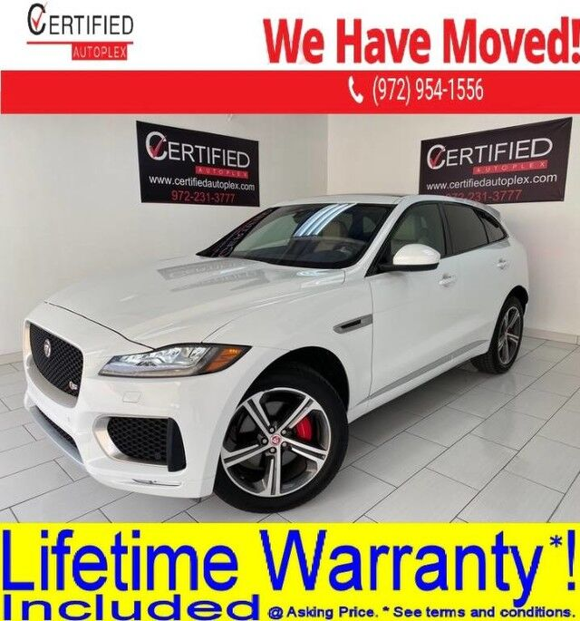 2019 Jaguar F-PACE S AWD CONECT PRO PKG NAVIGATION PANORAMIC ROOF REAR CAMERA PARK ASSIST Dallas TX