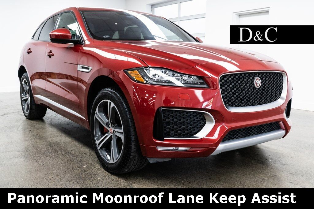 2019 Jaguar F-PACE S Panoramic Moonroof Lane Keep Assist Portland OR