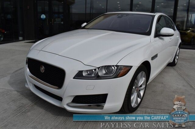2019 Jaguar XF 25t Premium / AWD / Power Leather Seats / Sunroof / Keyless Start / Bluetooth / Back Up Camera / Cruise Control / 33 MPG / 1-Owner Anchorage AK