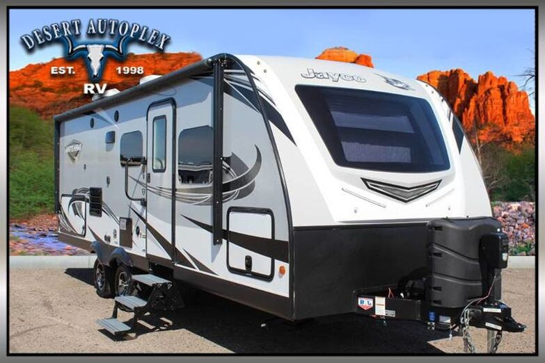2019 Jayco White Hawk 23MRB Single Slide Travel Trailer Treated w/Cilajet Anti-Microbial Fog Mesa AZ