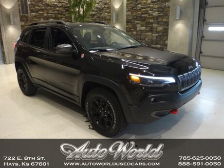 2019 Jeep CHEROKEE TRAILHAWK 4X4  Hays KS