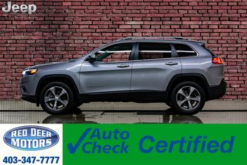 2019_Jeep_Cherokee_4x4 Limited Leather Roof Nav BCam_ Red Deer AB