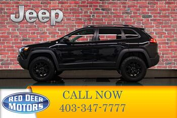 2019_Jeep_Cherokee_4x4 Trailhawk Leather Roof Nav_ Red Deer AB