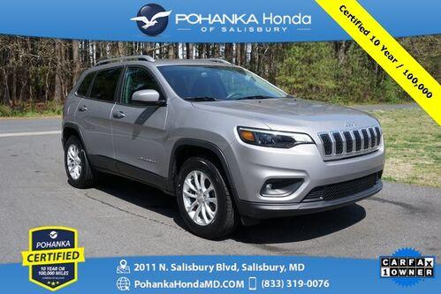 2019_Jeep_Cherokee_Latitude 4wd ** Pohanka Certified 10 Year / 100,000 **_ Salisbury MD