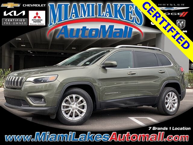 2019 Jeep Cherokee Latitude Miami Lakes FL
