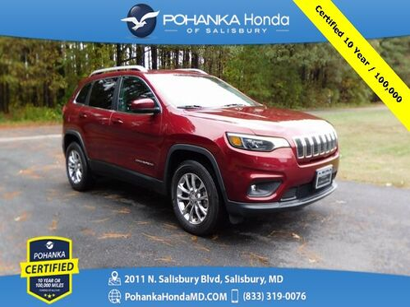 2019_Jeep_Cherokee_Latitude Plus 4WD ** Pohanka Certified 10 Year / 100,000 **_ Salisbury MD