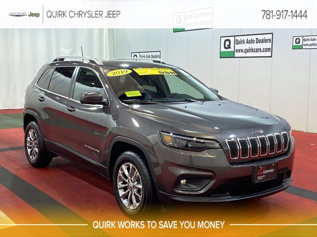 2019 Jeep Cherokee Latitude Plus Braintree MA