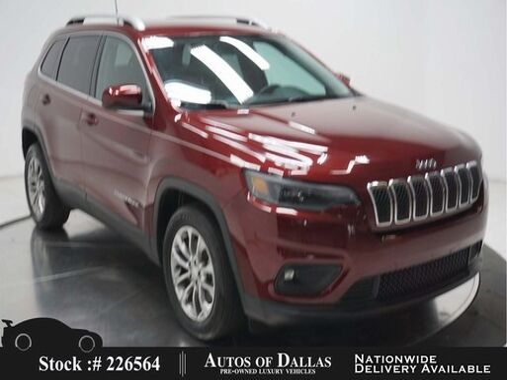 2019_Jeep_Cherokee_Latitude Plus CAM,PARK ASST,KEY-GO,BLIND SPOT_ Plano TX