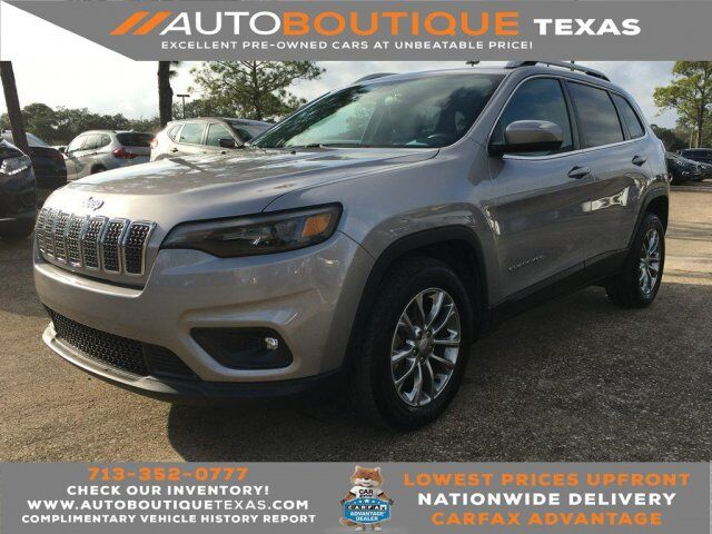2019 Jeep Cherokee Latitude Plus Houston TX
