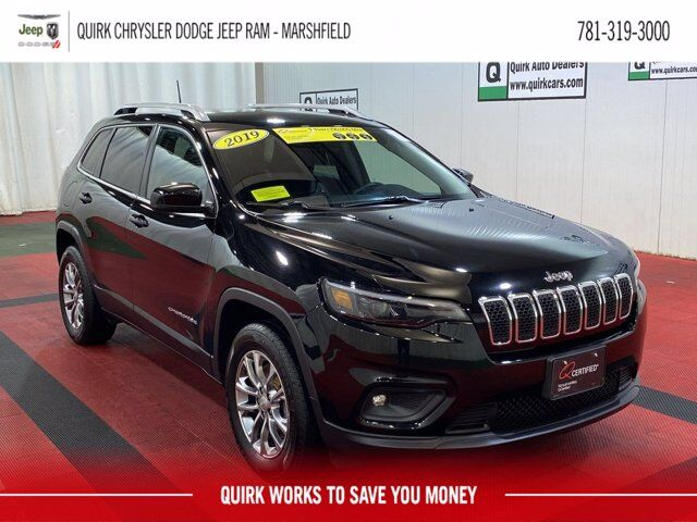 2019 Jeep Cherokee Latitude Plus 4x4 Marshfield MA