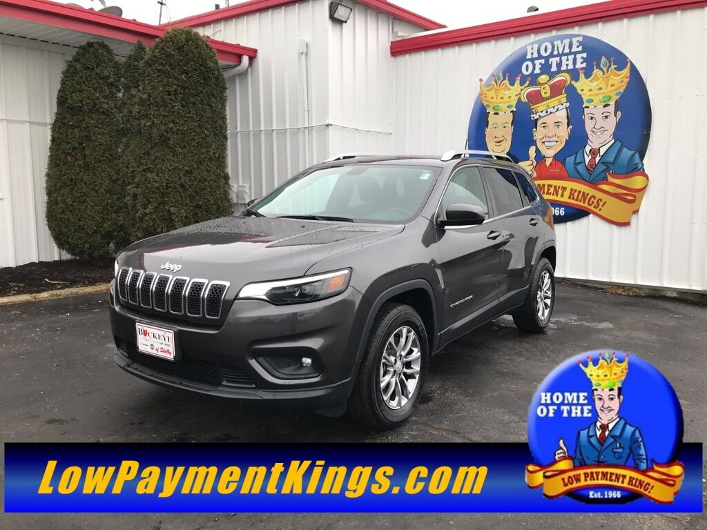 2019 Jeep Cherokee Latitude Plus Shelby OH