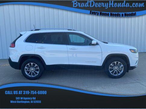 2019_Jeep_Cherokee_Latitude Plus_ West Burlington IA