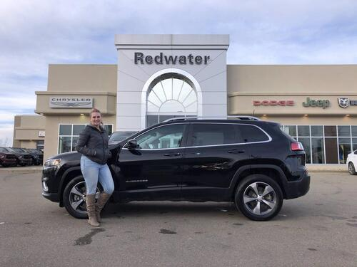 2019_Jeep_Cherokee_Limited -  4X4/AWD - Leather - LED Lighting - Heated Seats - 3.2L V6_ Redwater AB