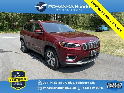 2019_Jeep_Cherokee_Limited 4WD/NAVI ** Pohanka Certified 10 Year / 100,000 **_ Salisbury MD