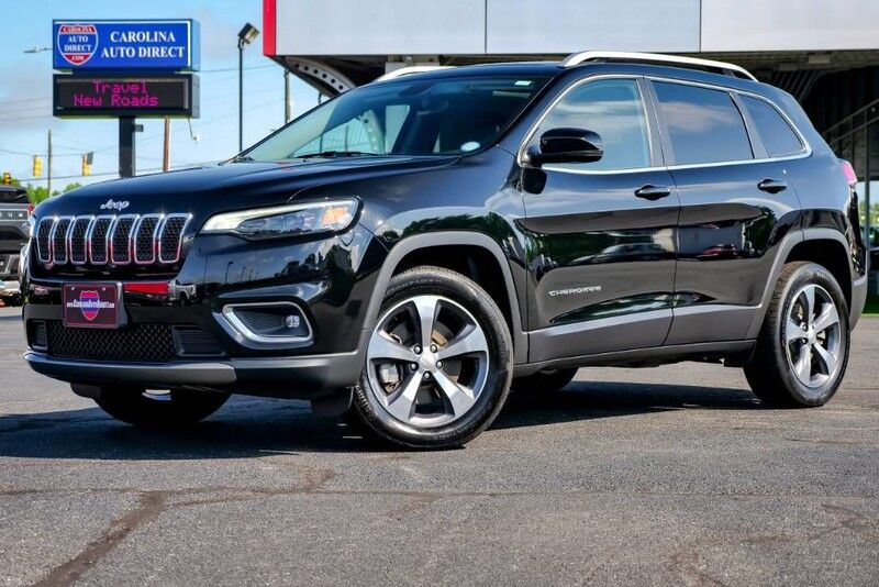 2019 Jeep Cherokee Limited 4X4 w/ Heated Front Seats, NAV & Remote Start Mooresville NC