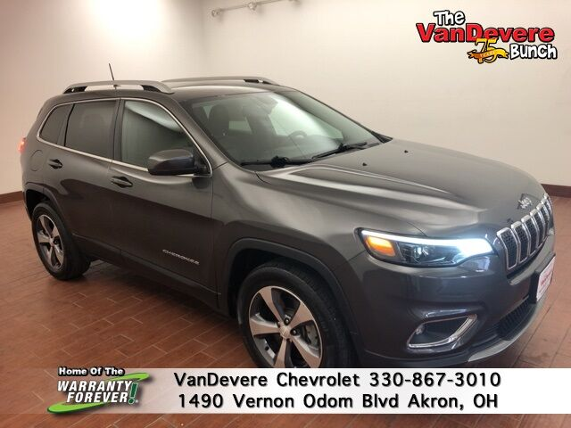 2019 Jeep Cherokee Limited Akron