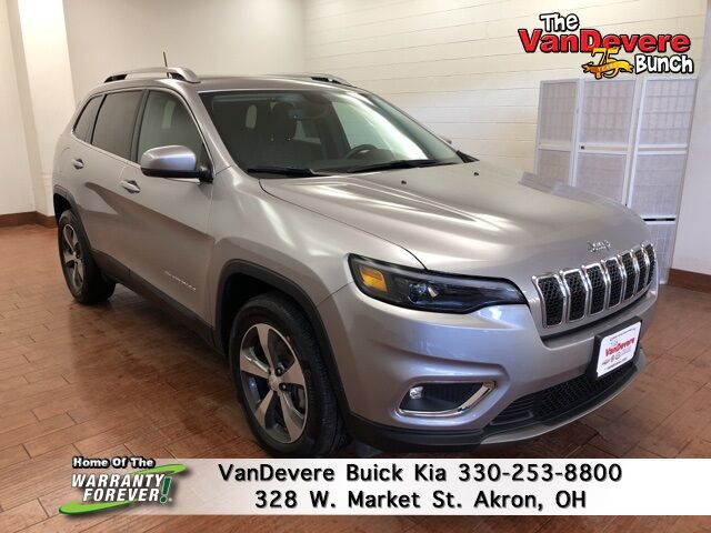 2019 Jeep Cherokee Limited Akron OH