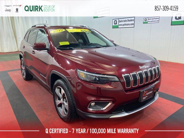 2019 Jeep Cherokee Limited Boston MA