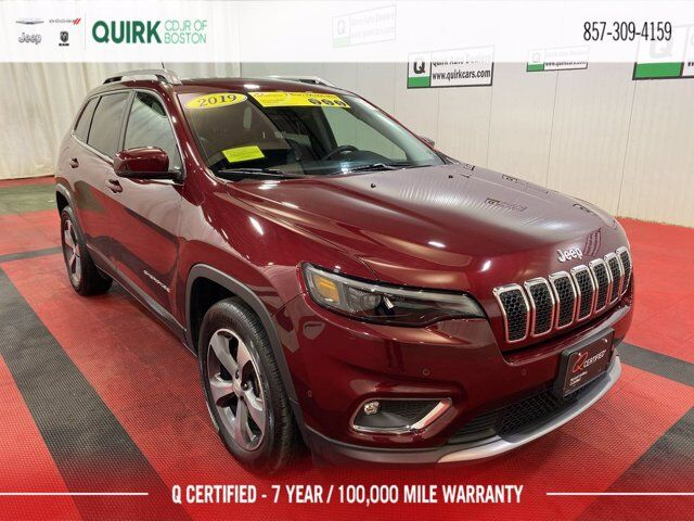 2019 Jeep Cherokee Limited 4x4 Boston MA