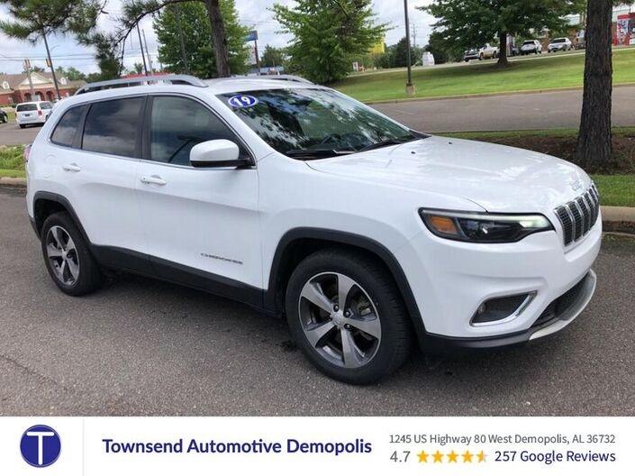 2019 Jeep Cherokee Limited Demopolis AL