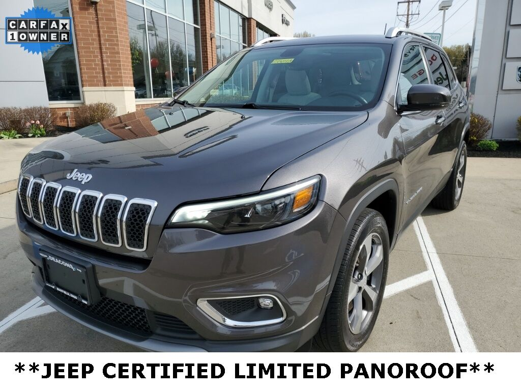 2019 Jeep Cherokee Limited Mayfield Village OH