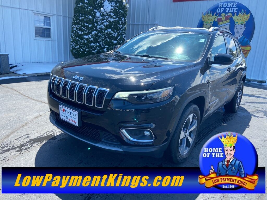 2019 Jeep Cherokee Limited Shelby OH
