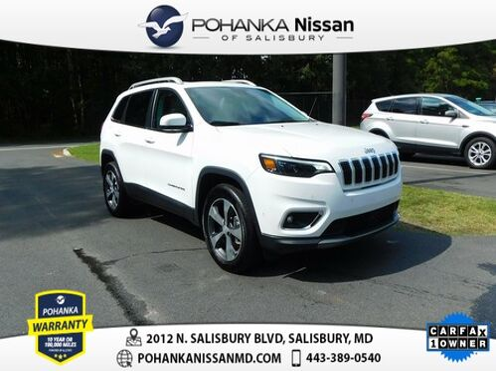 2019_Jeep_Cherokee_Limited Pohanka Certified_ Salisbury MD